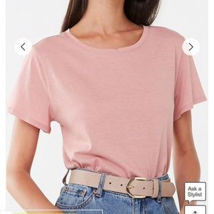Forever 21 Tops - Forever 21 Elastic Crop Top